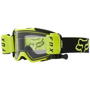 FOX RACING 2021 VUE STRAY ROLL OFF GOGGLES [FLO YELLOW]