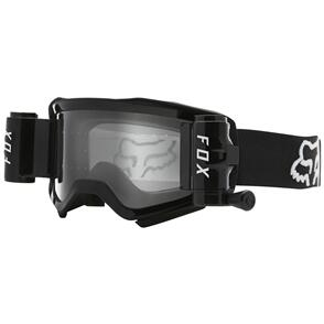 FOX RACING 2021 AIRSPACE STRAY ROLL OFF GOGGLES [BLACK]