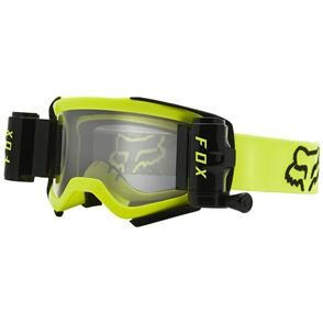 FOX RACING 2021 AIRSPACE STRAY ROLL OFF GOGGLES [FLO YELLOW]