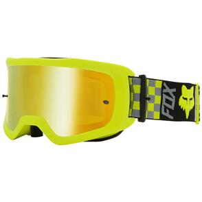 FOX RACING 2021 MAIN ILLMATIK GOGGLES SPARK [FLO YELLOW]