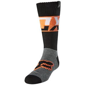 FOX RACING 2021 YOUTH SOCKS AFTERBURN [BLACK]