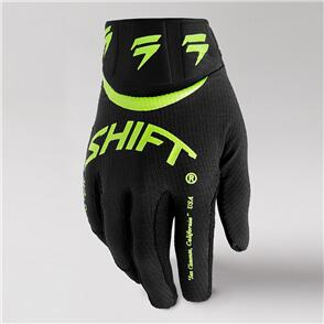 SHIFT 2021 YOUTH WHITE LABEL BLISS GLOVES [FLO YELLOW]