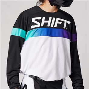 SHIFT 2021 WHITE LABEL ULTRA JERSEY [WHITE/ULTRAVIOLET]