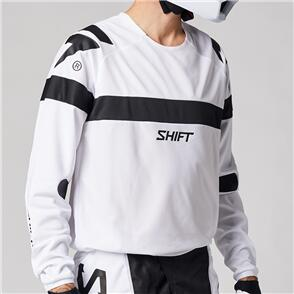 SHIFT 2021 WHITE LABEL VOID JERSEY [WHITE/BLACK]