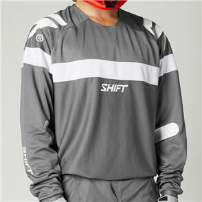 SHIFT 2021 WHITE LABEL VOID JERSEY [GREY/WHITE]