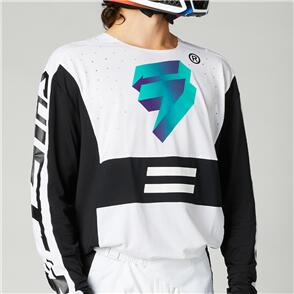 SHIFT 2021 BLACK LABEL UV JERSEY [WHITE/ULTRAVIOLET]