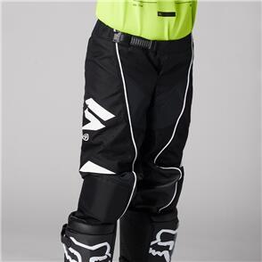 SHIFT 2021 YOUTH WHITE LABEL ROKR PANTS [BLACK/WHITE]