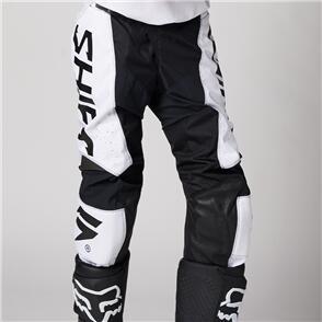 SHIFT 2021 WHITE LABEL TRAC PANTS [WHITE/BLACK]