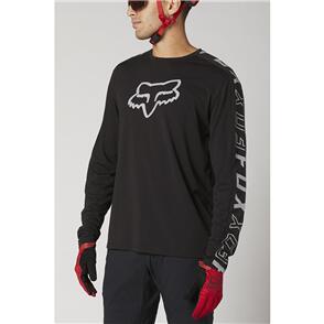 FOX RACING 2021 RANGER DR LS JERSEY [BLACK]