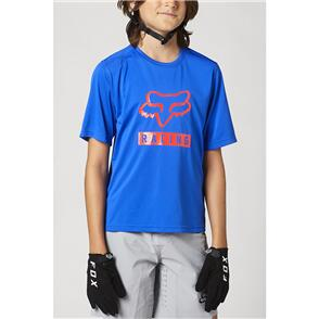 FOX RACING 2021 YOUTH RANGER SS JERSEY [BLUE]