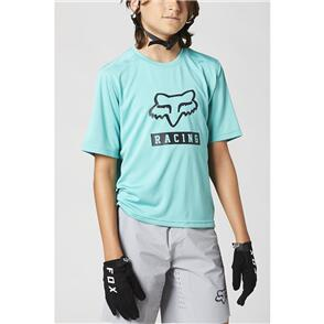 FOX RACING 2021 YOUTH RANGER SS JERSEY [TEAL]