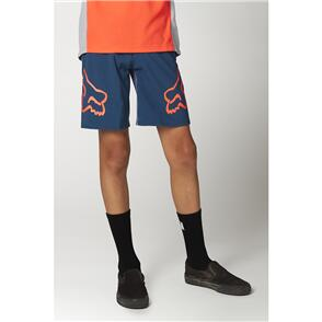 FOX RACING 2021 YOUTH DEFEND SHORTS [DARK INDIGO]