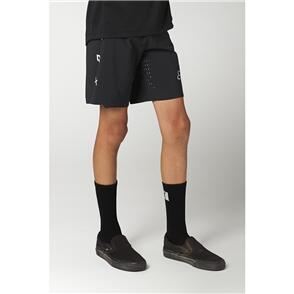 FOX RACING 2021 YOUTH FLEXAIR SHORTS [BLACK]