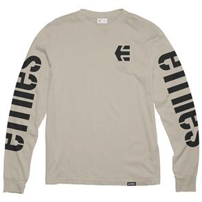 ETNIES ICON LS TEE [NATURAL]