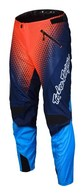 TROY LEE DESIGNS YOUTH SPRINT PANT STARBURST NVY/ORG