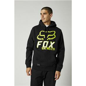 FOX RACING FOX HIGHTAIL PULLOVER FLEECE HOODY [BLACK]