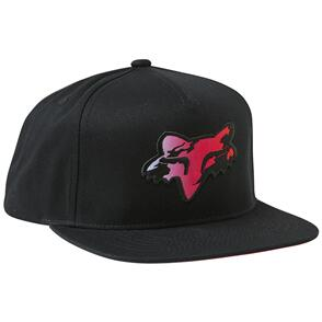 FOX RACING FOX PYRE SNAPBACK HAT [BLACK]