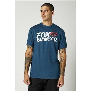 FOX RACING FOX WAYFARER SS TEE [DARK INDIGO]