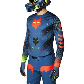 FOX RACING 2021 FLEXAIR MAWLR JERSEY [DUSTY BLUE]