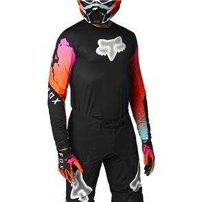 FOX RACING 2021 FLEXAIR PYRE JERSEY [BLACK]