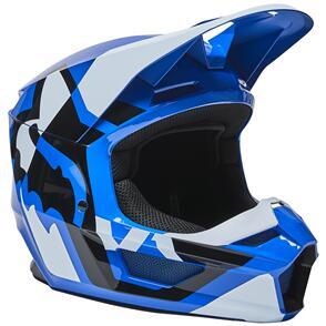 FOX RACING 2022 V1 LUX HELMET ECE [BLUE]