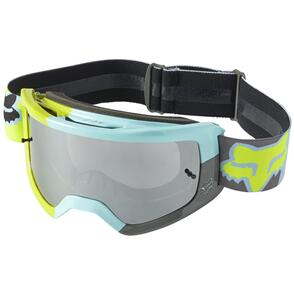 FOX RACING 2022 MAIN TRICE GOGGLES SPARK [TEAL]