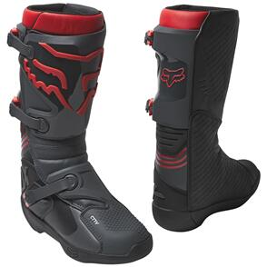 FOX RACING 2022 COMP BOOTS [BLACK/RED]