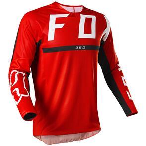 FOX RACING 2022 360 MERZ JERSEY [FLO RED]
