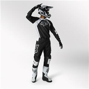 FOX RACING 2022 180 LUX GEARSET BLACK WHITE