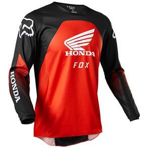 FOX RACING 2022 180 HONDA JERSEY [BLACK/RED]
