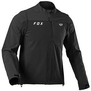 FOX RACING 2022 LEGION SOFTSHELL JACKET [BLACK]