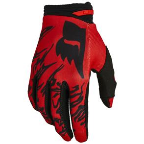 FOX RACING 2022 180 PERIL GLOVES [FLO RED]