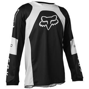 FOX RACING 2022 YOUTH 180 LUX JERSEY [BLACK]