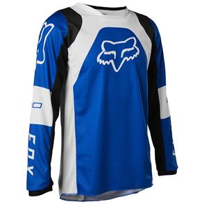 FOX RACING 2022 YOUTH 180 LUX JERSEY [BLUE]
