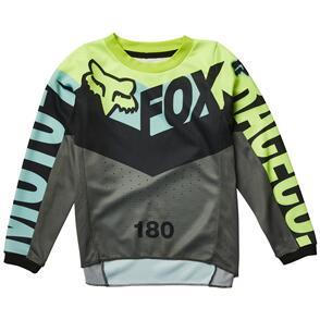 FOX RACING 2022 KIDS 180 TRICE JERSEY [TEAL]