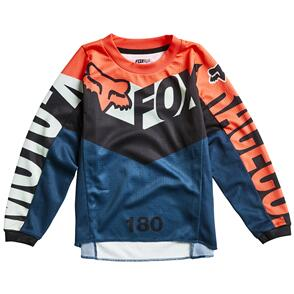 FOX RACING 2022 KIDS 180 TRICE JERSEY GREY/ORANGE