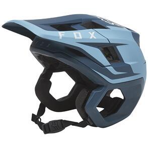 FOX RACING 2022 DROPFRAME PRO HELMET SIDESWIPE CE [SLATE BLUE]