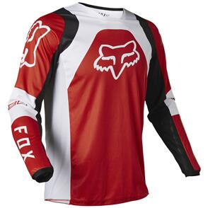 FOX RACING 2022 180 LUX JERSEY [FLO RED]