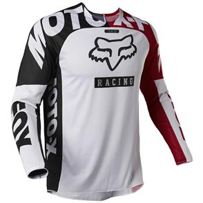 FOX RACING 2022 360 PADDOX JERSEY AND PANTS [RED/BLACK/WHITE]