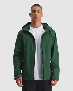 HUFFER MENS 2.5LHFR RAINSHELL RACING GREEN