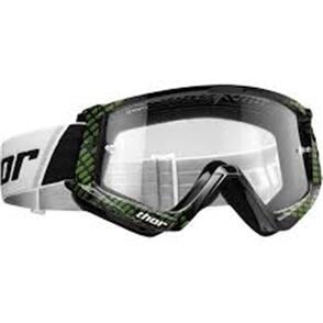 THOR GOGGLES THOR YOUTH COMBAT BLACK LIME