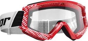 THOR GOGGLES THOR YOUTH COMBAT CAP RED WHITE