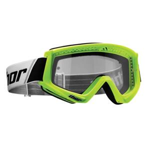 THOR GOGGLES THOR YOUTH COMBAT FLO GREEN