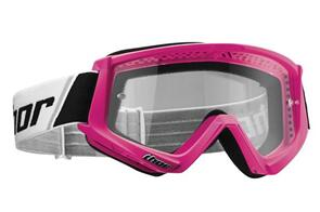 THOR GOGGLES THOR YOUTH COMBAT FLO PINK