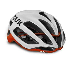 KASK PROTONE WHITE/RED CE