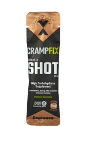 CRAMPFIX SHOTS ESPRESSO CAFFEINE 20ML (BOX 15)