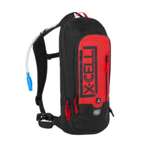 X-CELL ALTITUDE HYDRATION PACK RED