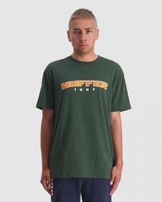 HUFFER SUP TEE/HFR CARDINAL RACING GREEN