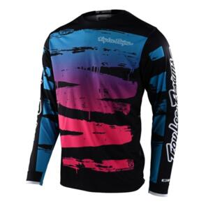TROY LEE DESIGNS 2021 GP JERSEY BRUSHED NAVY / CYAN | YOUTH