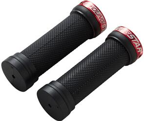 REVERSE COMPONENTS GRIP YOUNGSTAR SINGLE LOCK ON REVERSE BLK/RED